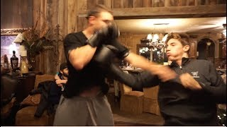 VLOG 69: boxing, capture the flag, puppies, rhyming challenge and more
