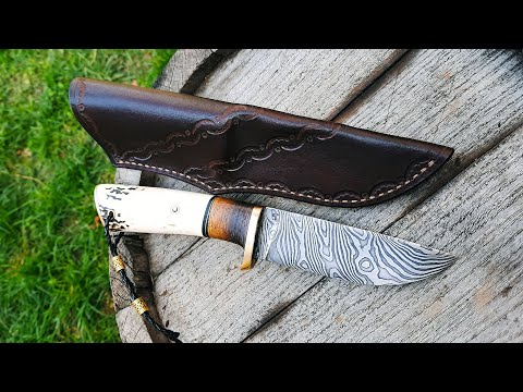 Forging Damascus | Small Hunting Knife