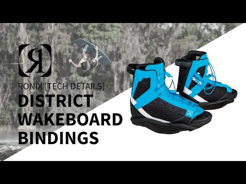 2019 Ronix District Wakeboard Bindings