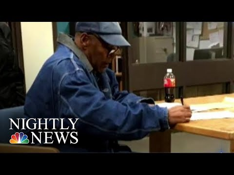 O.J. Simpson Quietly Released From Nevada Prison On Parole | NBC Nightly News