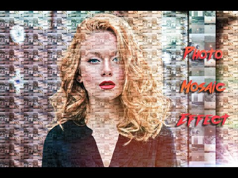 Photoshop Tutorial | MOSAIC PORTRAITS | How To Create Photo Mosaic | by pd Artography thumbnail