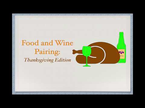 wine article Winecast Wine and Thanksgiving