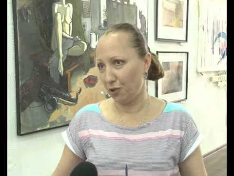 Усть-Илимские художники в Ангарском музее 27-06-2012