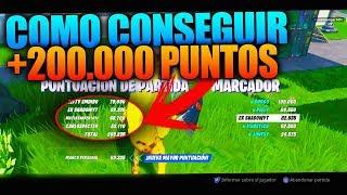 CÓMO CONSEGUIR +200.000 PUNTOS en el NUEVO MODO Estampida de la Horda - Fortnite Battle Royale
