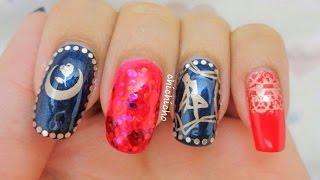 Sailor Moon Nail Art 美少女戰士美甲