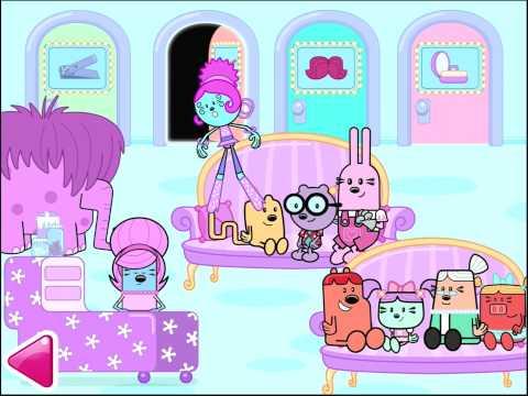 Wubbzy's Beauty Salon Game App   Top Best Apps For Kids