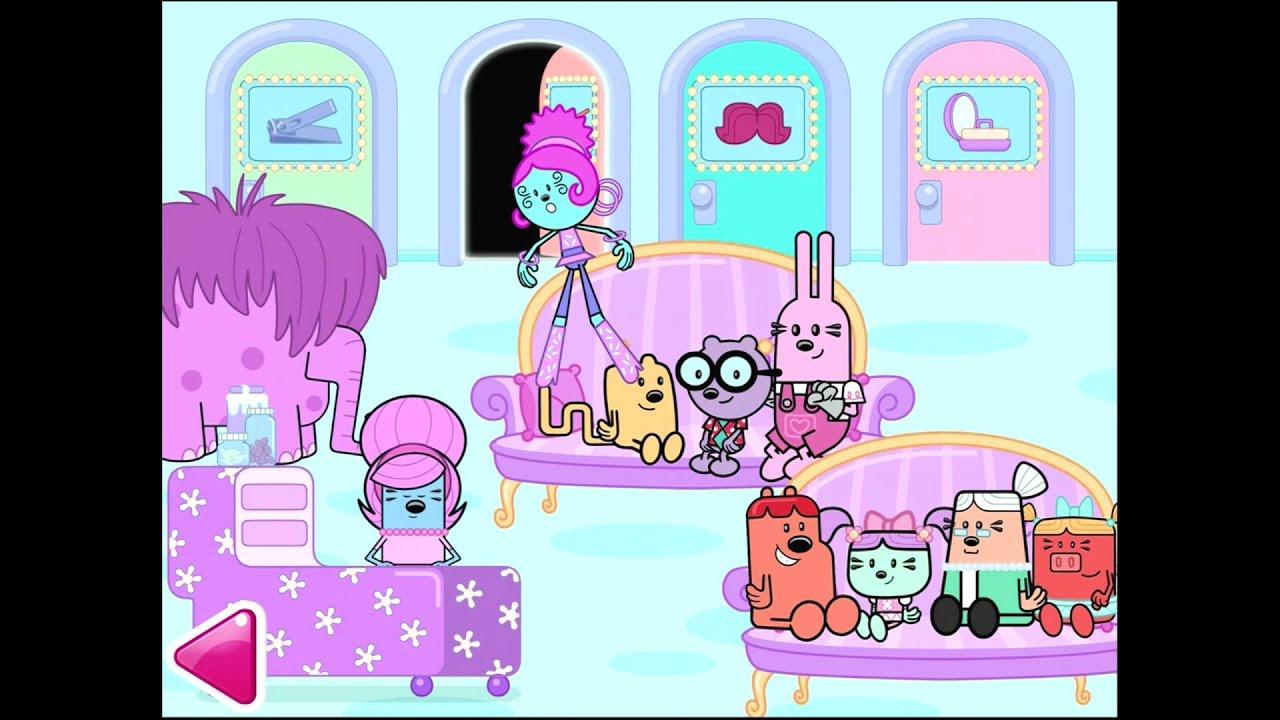 Wubbzy's Beauty Salon Game App | Top Best Apps For Kids ...