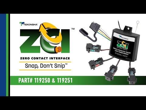 Tekonsha® ZCI™: Zero Contact Interface - Featues & Benefits