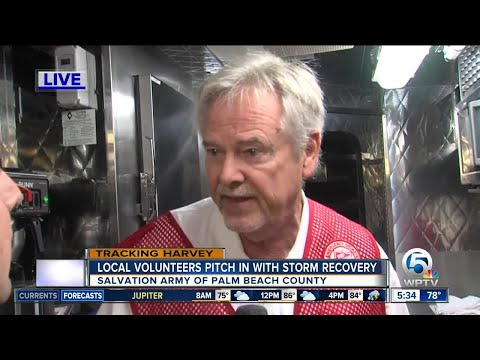 Salvation Army of Palm Beach County deploys mobile kitchen to Texas