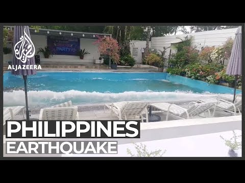 Deadly earthquake strikes southern Philippines