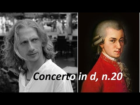 Mozart: Piano Concerto No.20 (Dušan Holý)