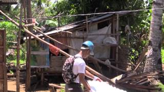 Post Yolanda rehab in San Remegio