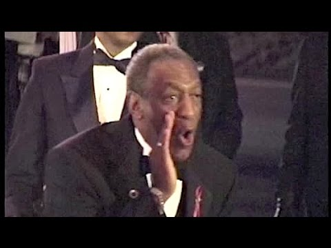 BILL COSBY receives boos  . . . and sends boos back at People's Choice Awards --1997