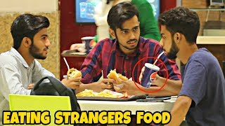 Eating Peoples Food In Amanah Mall | Prank In Pakistan