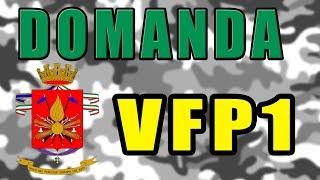 COME FARE DOMANDA VFP1