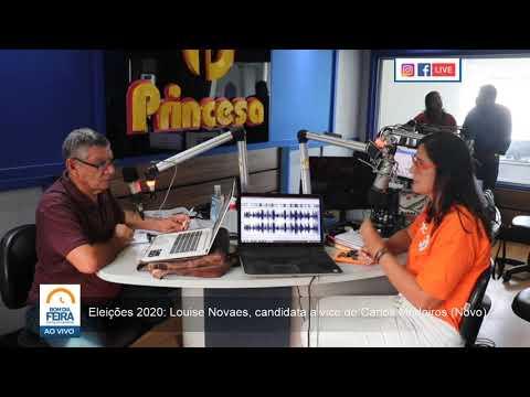Eleições 2020: Louise Novaes, candidata a vice de Carlos Medeiros (Novo)