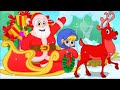 Jingle Bells All The Way With Mila and Morphle | Christmas Sing-Along Songs For Kids | Sandaroo