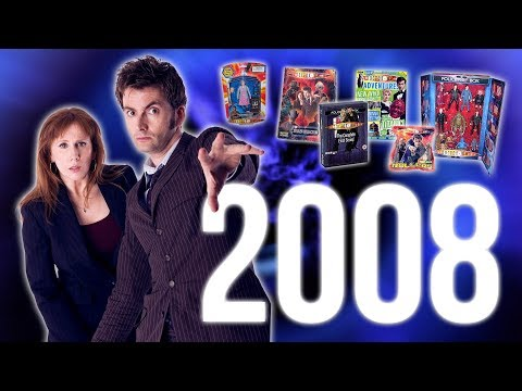 10 Years A Doctor Who Fan: 2008 (Belated 2000 Subscriber Special)