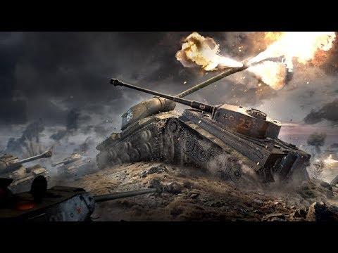 Танковое Сражение ВОВ фильм 55-й Батальон Русские Военные HD