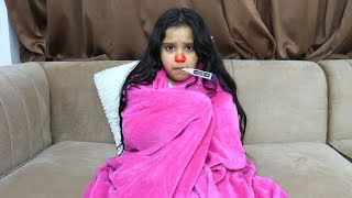 شفا فيها برد !!! shfa has a cold