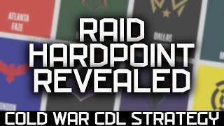 RAID Hardpoint REVEALED | Black Ops Cold War COD League Strategy Guide and Walkthrough!