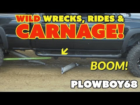 TRUCK & TRACTOR PULLING WILD WRECKS, RIDES & CARNAGE BY PLOWBOY68 VOL 1