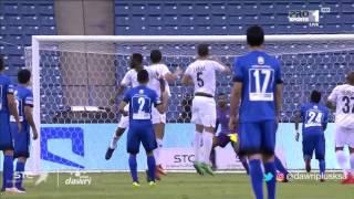 هدف الهلال الأول ضد الشباب (محمد البريك) في ربع نهائي كأس ولي العهد السعودي
