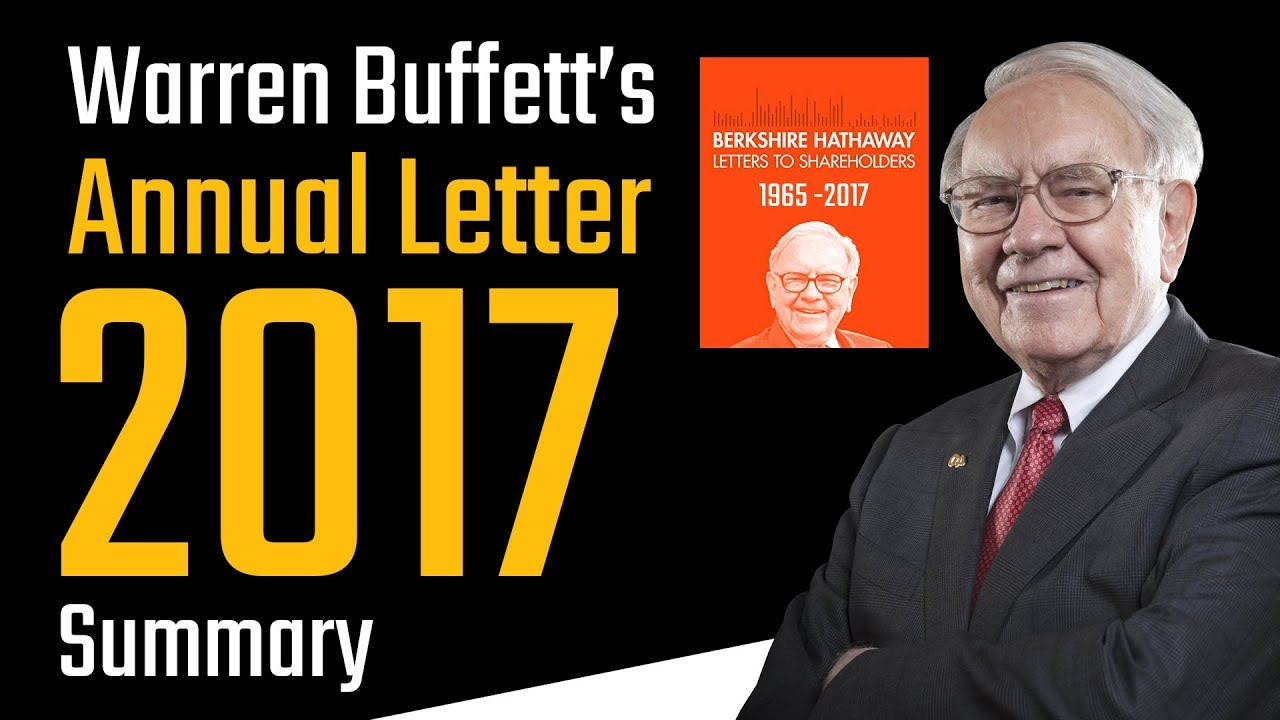 Summary of Warren Buffett's Annual Letter to Shareholders 2017   In Hindi
