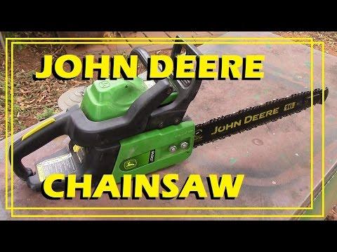 john deere j3816 chainsaw youtube rh youtube com John Deere Chainsaw CS56 Manual John Deere J3816 Fuel