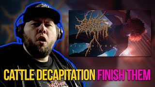 I was completely sleeping on them!  GERMAN METALHEAD REACTS   Cattle Decapitation - Finish Them