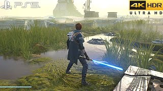 Star Wars Jedi: Fallen Order (PS5) 4K 60FPS HDR Gameplay - (Full Game)