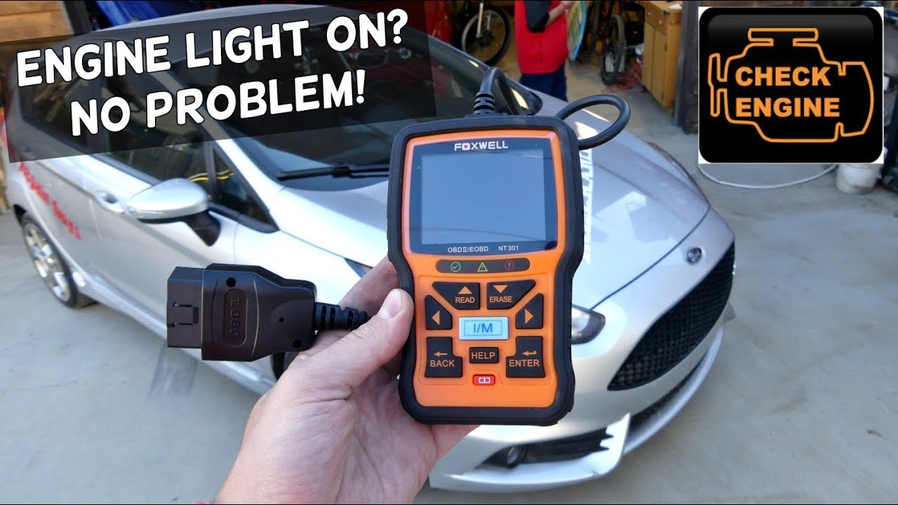 Foxwell Obd Scanner Review Foxwell Nt301 Youtube