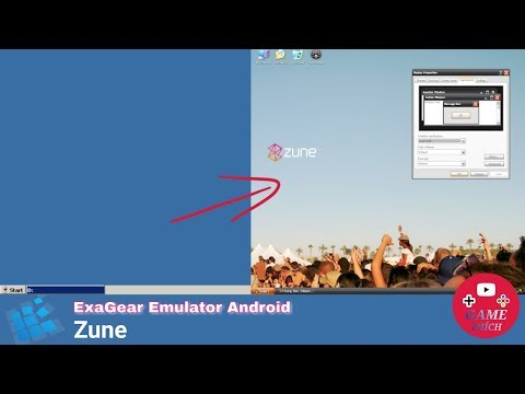 Windows Theme Zune - ExaGear Emulator Android