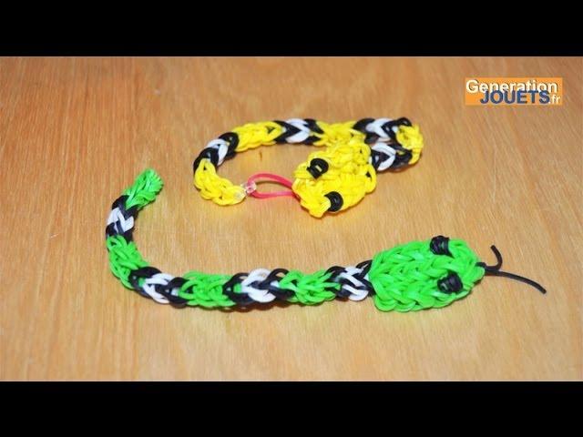 Comment Créer Un Bracelet Rainbow Loom Serpent Youtube