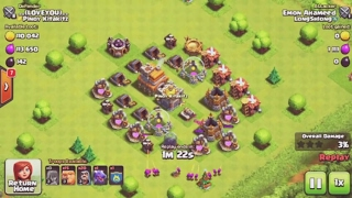 COC Very funny town hall 7 base