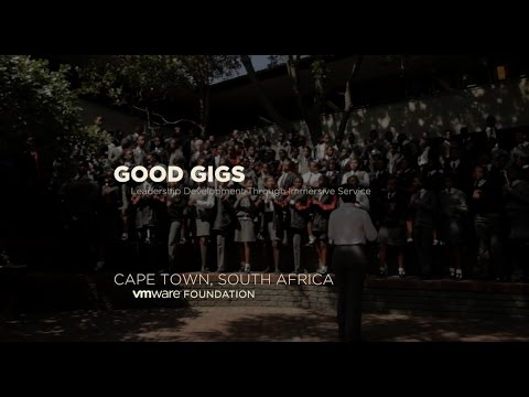 VMware Foundation - Good Gigs Service Learning Trek - Cape Town, South Africa