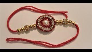 How to make rakhi at home for raksha bandhan Festival / Easy rakhi
