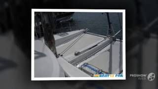 Aventura 36 sailing boat, catamaran year - 2006