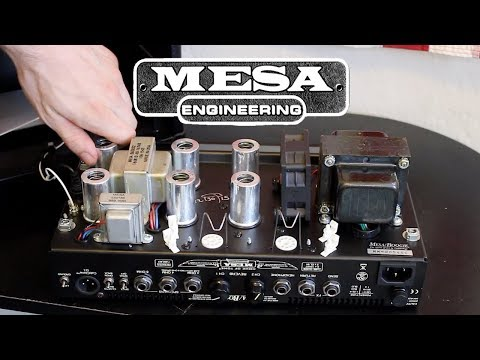 HOW TO CHANGE TUBES IN A MESA BOOGIE AMP HEAD  - Mesa Boogie Mark V 5:25