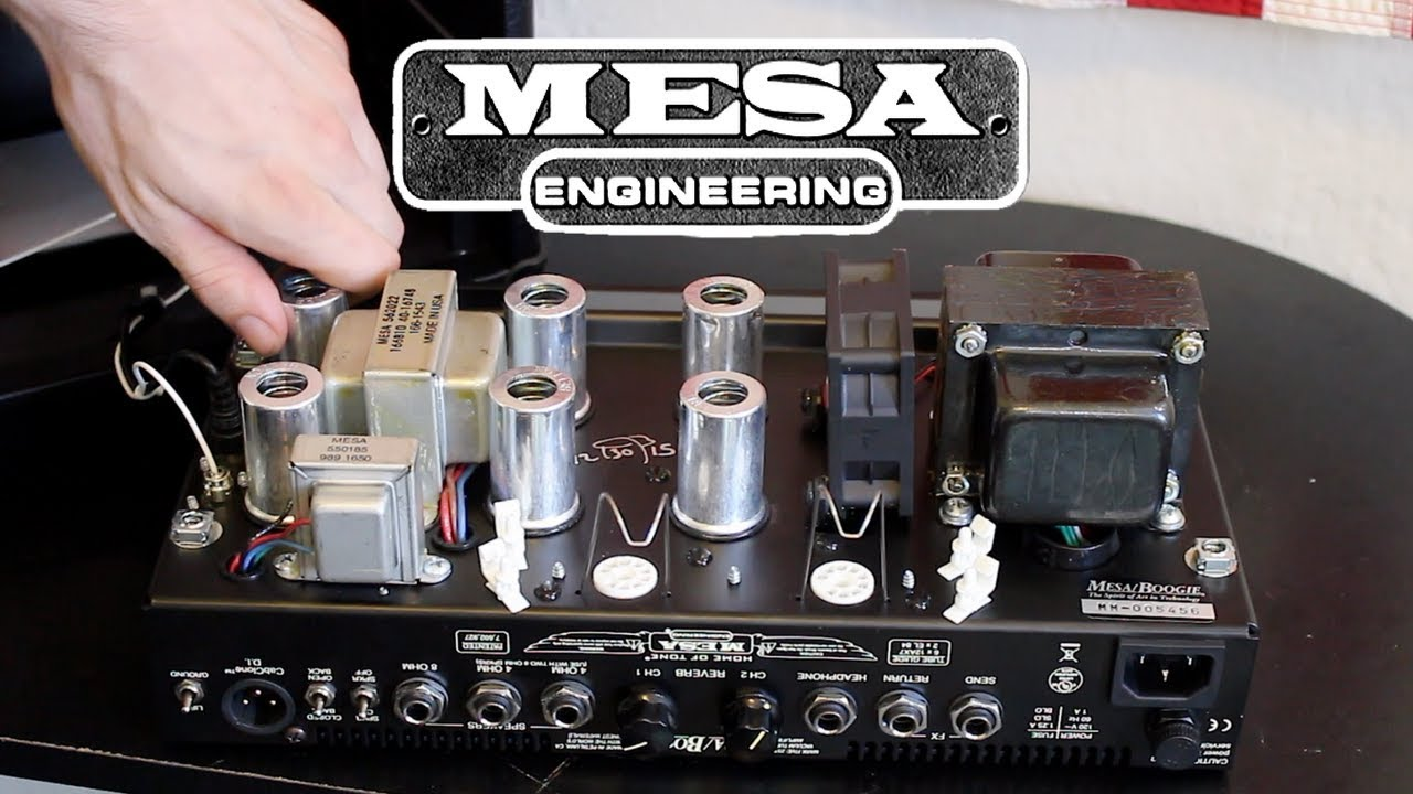 How To Change Tubes In A Mesa Boogie Amp Head
