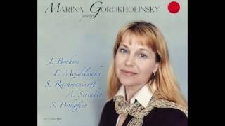 Scriabin Preludes op. 11  1-3  Marina Gorokholinsky piano