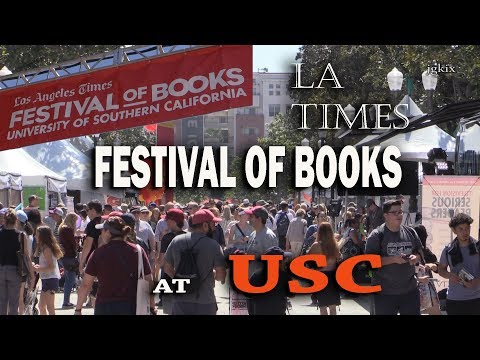 The 2018 Los Angeles Times Festival of Books