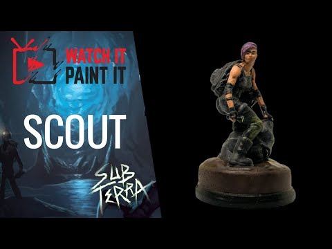 Sub Terra - Painting the Scout