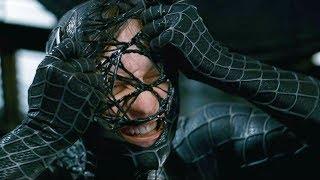 """Человек паук избавляется от венома - """"Человек-паук 3: Враг в отражении"""" отрывок из фильма"""