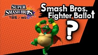 Has King K  Rool Won Smash Bros Ballot ? Nintendo Trademarks His Name in VC Release