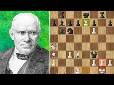 "Most Beautiful Chess Game Ever Played - ""The Evergreen Game"""