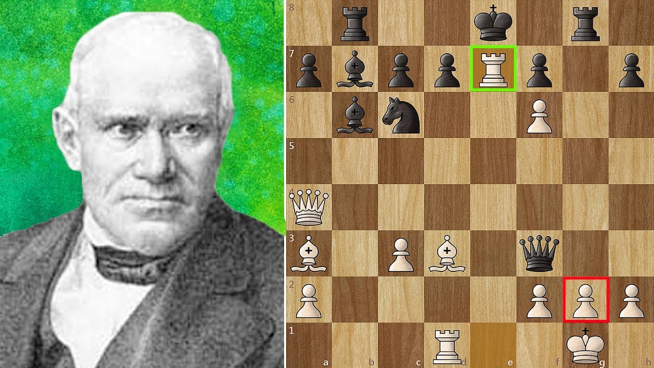 "Most Beautiful Chess Game Ever Played – ""The Evergreen Game"""