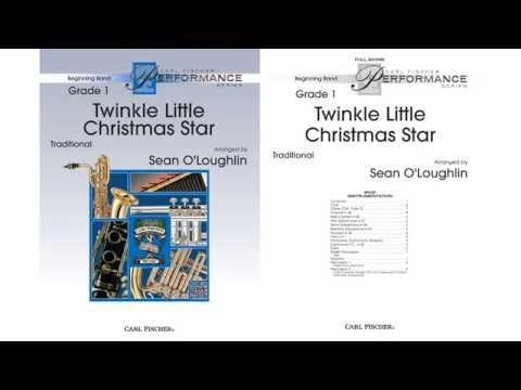 Twinkle Little Christmas Star (BPS102) by Sean O'Loughlin