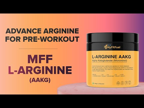 MFF L-Arginine (AAKG) | 2 Aminos for 1 | Advanced Arginine | Pre-Workout Amino