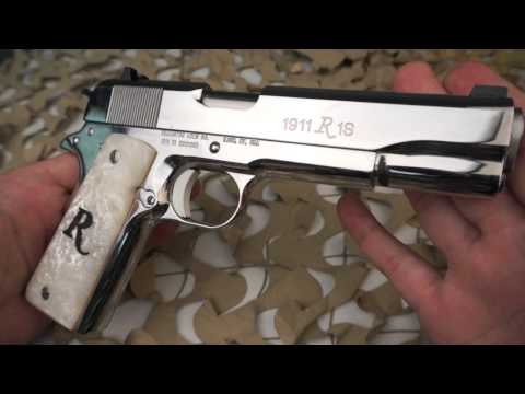 Remington R1s Polished Stainless 45ACP 1911 Pistol Overview - Texas Gun Blog